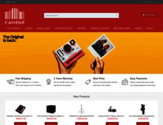 cam4sell.com screenshot