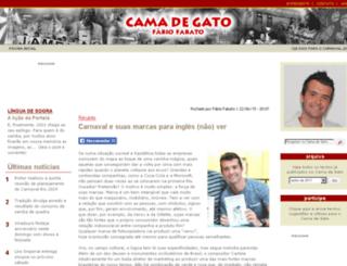 camadegato.galeriadosamba.com.br screenshot