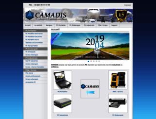 camadis.fr screenshot
