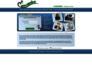 camamba.com screenshot