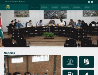 camarabarracao.pr.gov.br screenshot