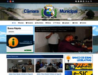 camaradejatoba.pe.gov.br screenshot