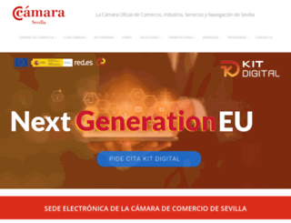 camaradesevilla.com screenshot
