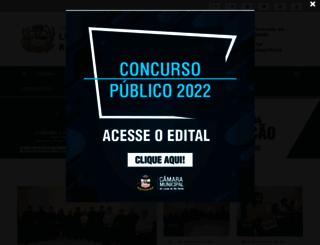 camaralucasdorioverde.mt.gov.br screenshot