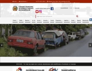 camaraolimpia.sp.gov.br screenshot