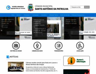 camarasap.rs.gov.br screenshot