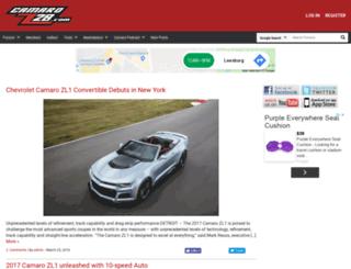 camaroz28.com screenshot