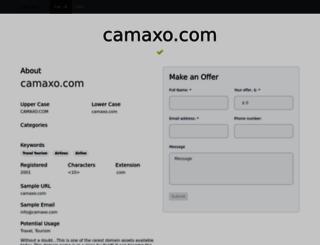 camaxo.com screenshot
