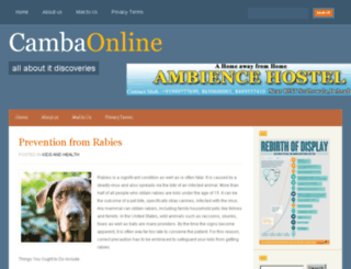 cambaonline.org screenshot