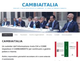 cambia-italia.it screenshot