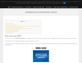 cambiareip.org screenshot
