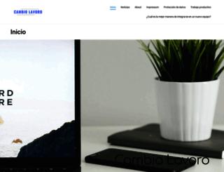 cambiolavoro.com screenshot