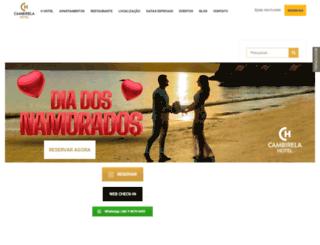 cambirela.com.br screenshot