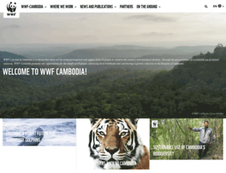 cambodia.panda.org screenshot