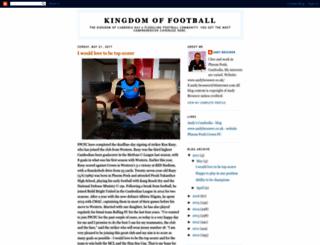 cambodiafootball.blogspot.com screenshot