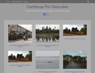 camboya.pordescubrir.com screenshot