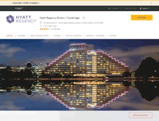 cambridge.hyatt.com screenshot