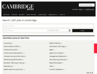 cambridge.jobsnow.co.uk screenshot