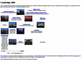 cambridge2000.com screenshot