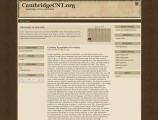 cambridgecnt.org screenshot