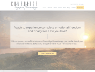 cambridgehypnotherapy.co.uk screenshot