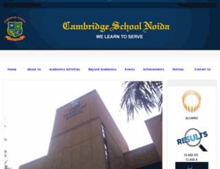 cambridgenoida.org screenshot