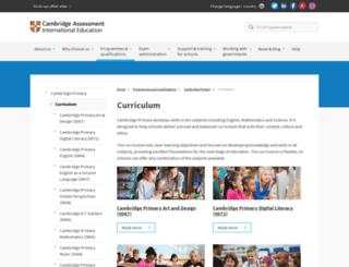cambridgestudents.org.uk screenshot