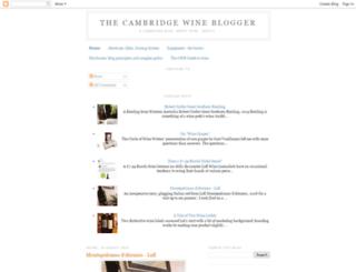 cambridgewineblogger.blogspot.co.uk screenshot