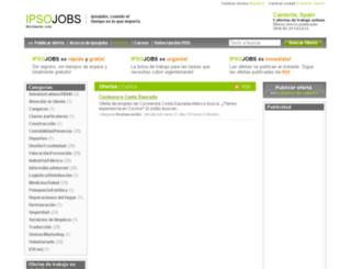 cambrils.ipsojobs.com screenshot