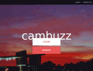 cambuzz.co.in screenshot