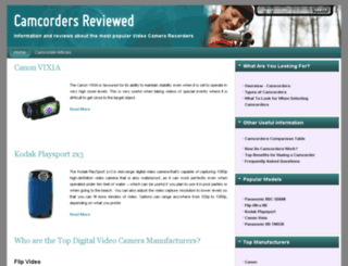 camcordersreviewed.com screenshot