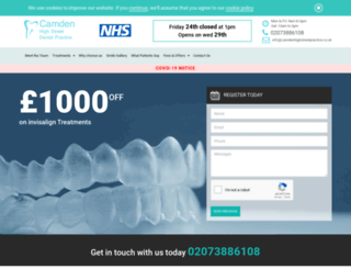 camdenhighstreetpractice.co.uk screenshot