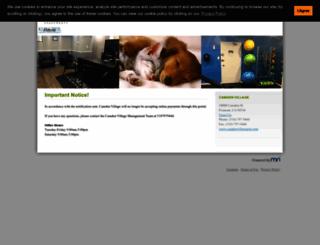 camdenvillage.mriresidentconnect.com screenshot