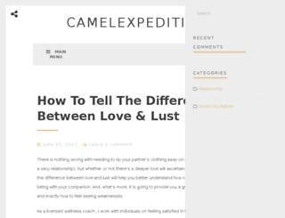 camel-expeditions.com screenshot