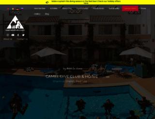 cameldive.com screenshot