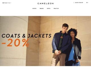 cameleon.be screenshot