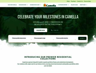 camella.com.ph screenshot