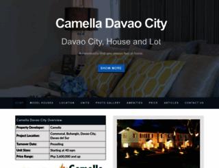 camelladavaocity.com screenshot