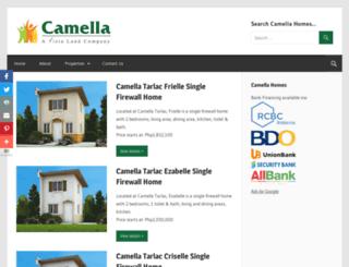 camellahomes.net screenshot