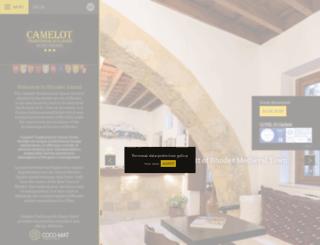 camelothotel.gr screenshot