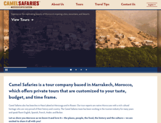 camelsafaries.com screenshot