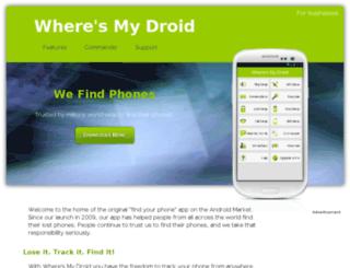 camera.wheresmydroid.com screenshot