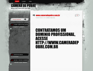 cameradepobre.wordpress.com screenshot