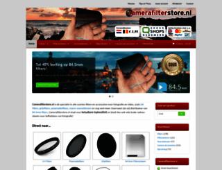 camerafilterstore.nl screenshot