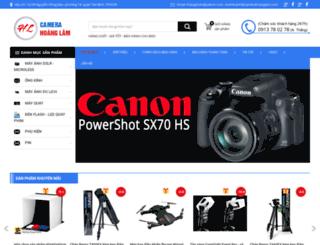 camerahoanglam.com screenshot