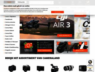 cameraland.nl screenshot