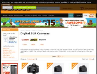 cameraparadise.com.au screenshot
