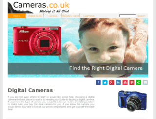 cameras.co.uk screenshot