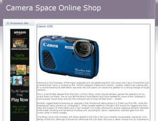 cameraspace.info screenshot
