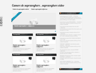 cameredesupraveghere.com.ro screenshot